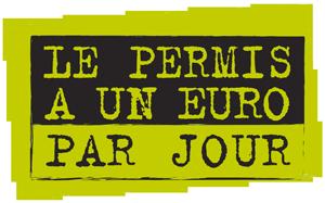 Logo du permis a 1€