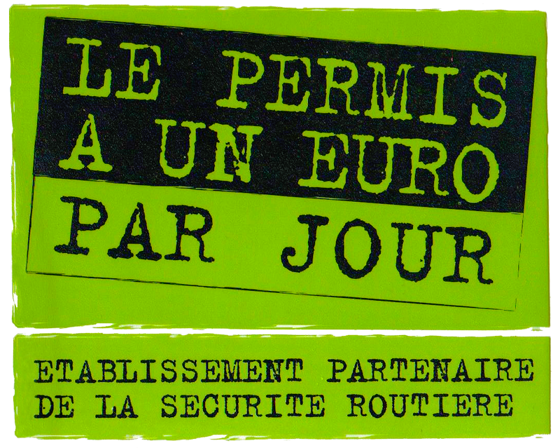 """Résultat de recherche d'images pour """"logo permis 1€"""""""